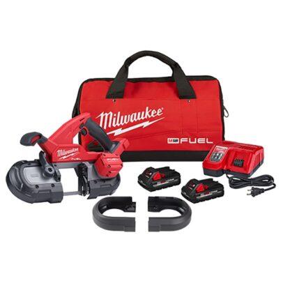 Milwaukee 2829S-22 M18 FUEL Compact Dual-Trigger Band Saw Kit
