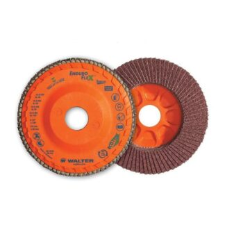"Walter 06F506 Enduro-Flex Stainless Flap Disc 5"" 60G"