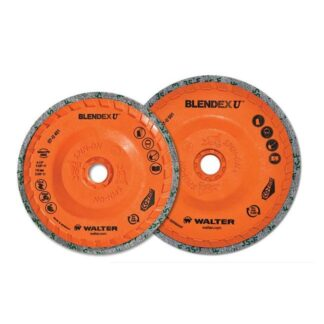 "Walter 07U451 Blendex U Cup Disc 4-1/2""x5/8-11"""