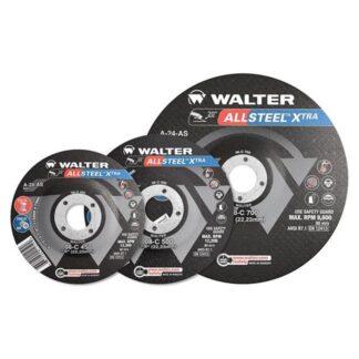 """Walter 08C700 Allsteel XTRA Grinding Wheel 7""""-1/4""""-7/8"""""""