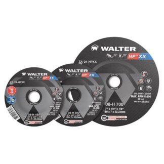 "Walter 08H600 HP XX Grinding Wheel 6""-1/4""-7/8"""