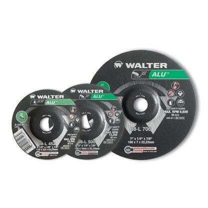 "Walter 08L502 ALU Grinding Wheel 5""-1/8""-7/8"""