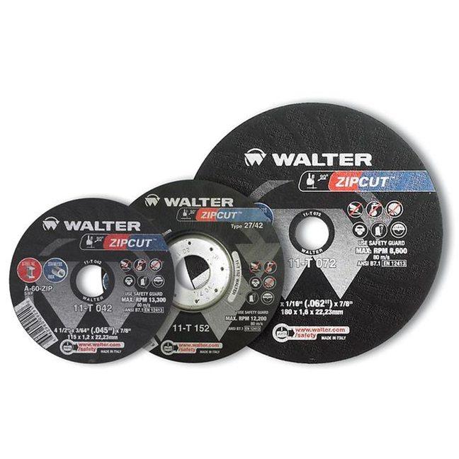 """Walter 11T192 Zipcut Cut-Off Wheel 9""""-5/64""""-7/8"""""""