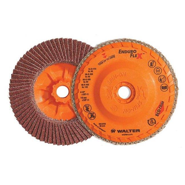 "Walter 15R504 ENDURO-FLEX Flap Disc 40G 5"""