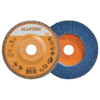 """Walter 15W504 ALLSTEEL Flap Disc 40G 5"""""""