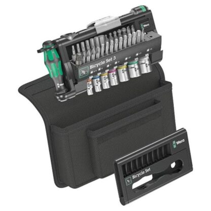 Wera 004172 39 Piece Ratchet Screwdriver Set for Bicycle Applications