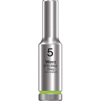 "Wera 004501 8790 HMA Deep Socket with 1/4"" Drive"
