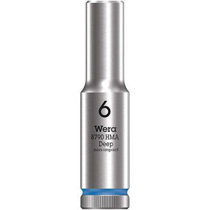 "Wera 004503 8790 HMA Deep Socket with 1/4"" Drive"