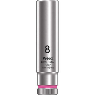 "Wera 004505 8790 HMA Deep Socket with 1/4"" Drive"