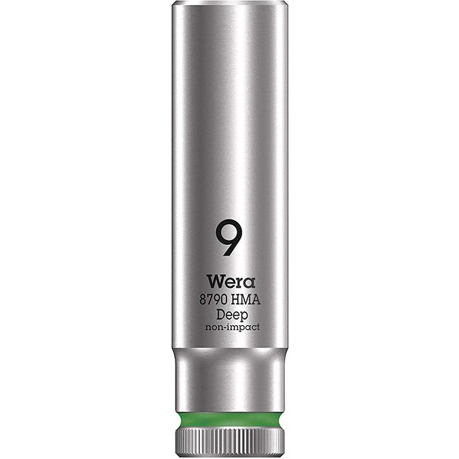 "Wera 004506 8790 HMA Deep Socket with 1/4"" Drive"