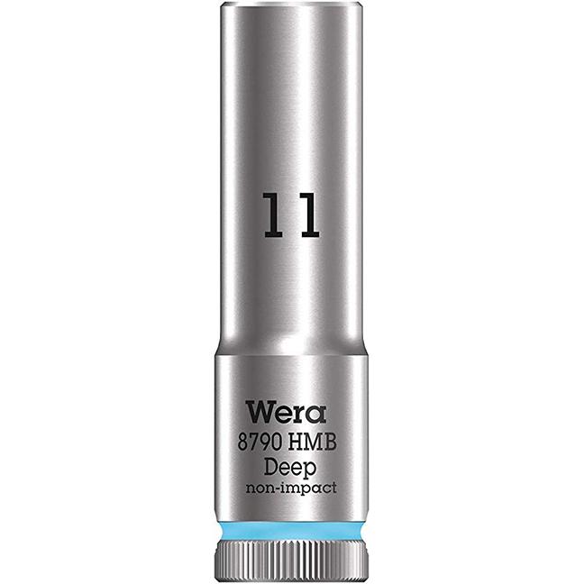 "Wera 004533 8790 HMB Deep Socket with 3/8"" Drive"