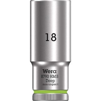 "Wera 004540 8790 HMB Deep Socket with 3/8"" Drive"