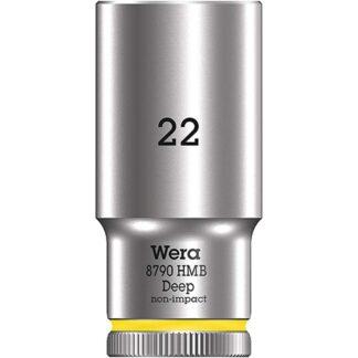 "Wera 004544 8790 HMB Deep Socket with 3/8"" Drive"