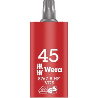 Wera 004925 8767 B VDE HF TORX 45 HF Insulated Socket