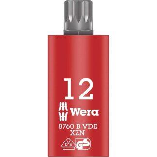 Wera 004942 8760 B VDE XZN M12 Insulated Socket