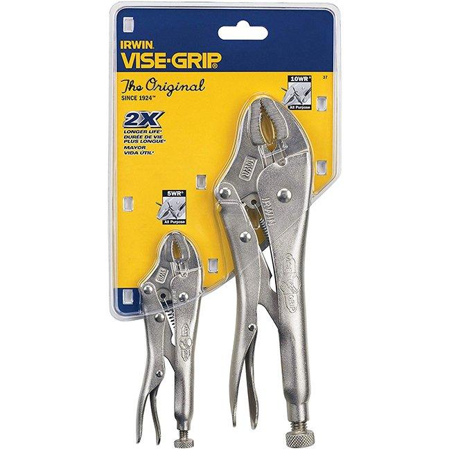 Irwin 37 Original Locking Pliers Set 2-Piece