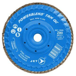 Jet 503577 Z80 POWERBLEND TRM QC Zirconia Flap Disc