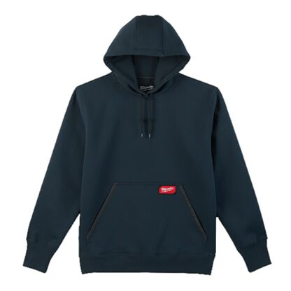 Milwaukee 350BL Heavy Duty Pullover Hoodie Blue