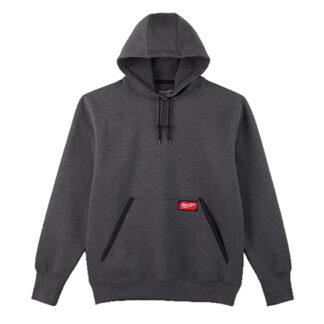 Milwaukee 350G Heavy Duty Pullover Hoodie Gray