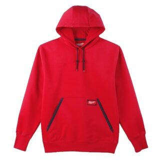 Milwaukee 350R Heavy Duty Pullover Hoodie Red