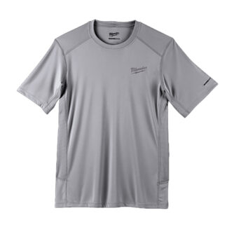 Milwaukee 414G WORKSKIN Lightweight Performance T-Shirt Gray
