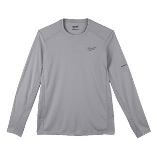Milwaukee 415G WORKSKIN Lightweight Performance Long Sleeve T-Shirt Gray
