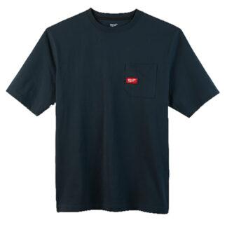 Milwaukee 601BL Heavy Duty Pocket T-Shirt Blue