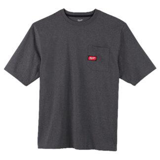 Milwaukee 601G Heavy Duty Pocket T-Shirt Gray