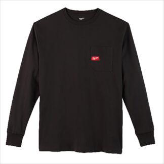 Milwaukee 602B Heavy Duty Pocket Long-Sleeve T-Shirt Black