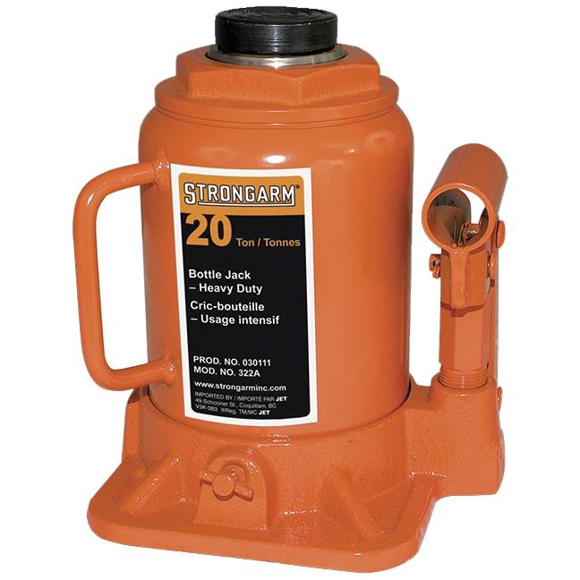 Strongarm 30111 322A 20-Ton-Bottle-Jack Heavy-Duty