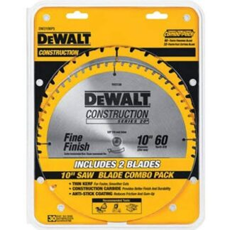 DEWALT DW3106P5 General Purpose Saw 2 Blade Combo Pack