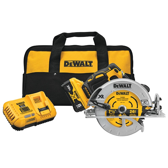 "DeWalt DCS574W1 20V MAX XR Brushless 7-1/4"" Circular Saw"
