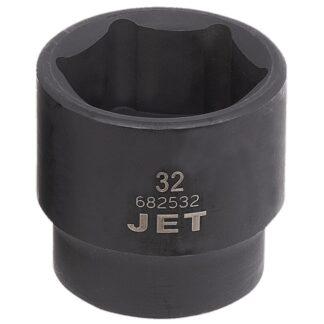 "Jet 682532 1/2"" DR x 32mm Regular Impact Socket 6-Point"
