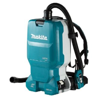 Makita DVC665PT2 18Vx2 LXT 6L Backpack Vacuum Cleaner Kit with AWS