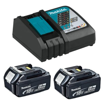 Makita T-03844 18V 5.0Ah Rapid Charging Kit