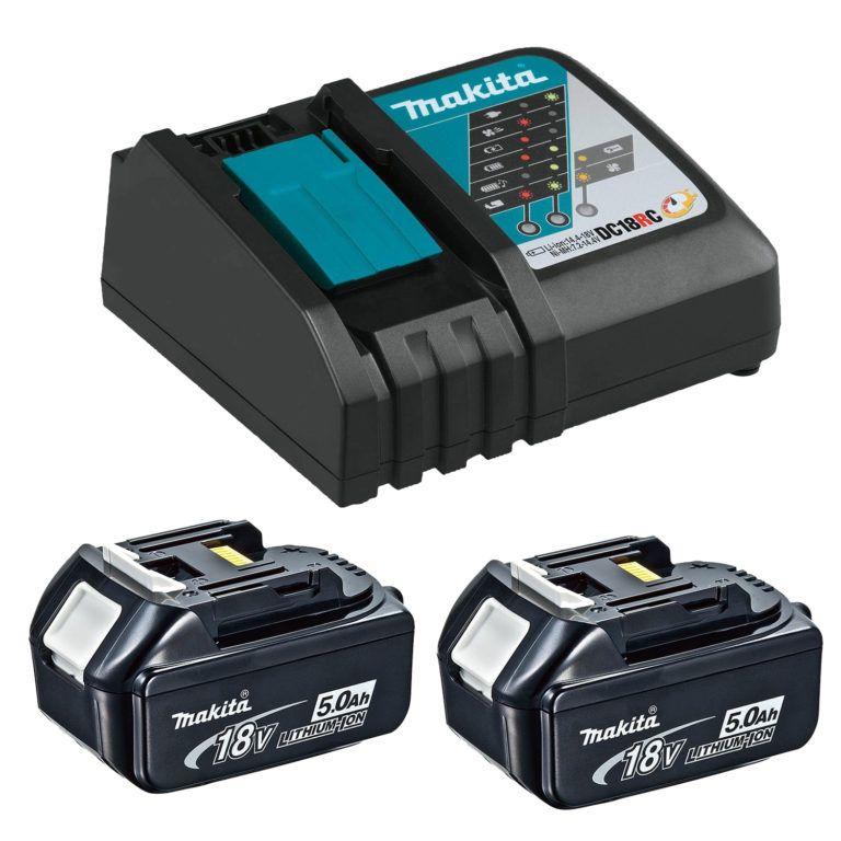 Makita T-03844 18V 5.0Ah Rapid Charging Kit