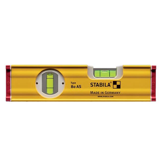 "Stabila 29008 Type 80 AS 8"" Box Frame Level"