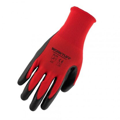 Worktuff 751185/10 Nitrile Coated Gloves 10-Pack