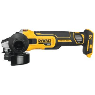 "DeWalt DCG405B 20V MAX XR 4-1/2"" Slide Switch Small Angle Grinder"