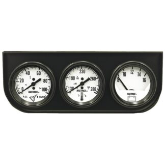 Jet HTA1835 Easy-Read Triple Voltmeter,Water Temperature and Oil Pressure Gauge Kit