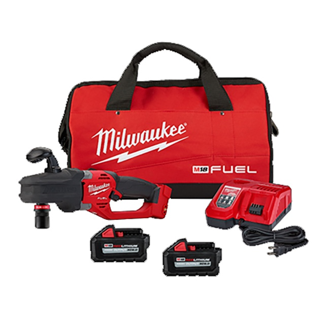 Milwaukee 2808-22 M18 FUEL HOLE HAWG Right Angle Drill with Quik-Lok Kit