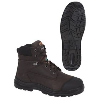 """Pioneer 1026A Leather 6"""" Work Boot"""