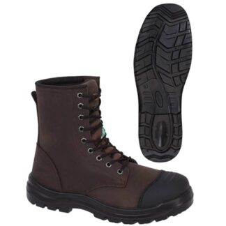 """Pioneer 1028A Leather 8"""" Work Boot"""