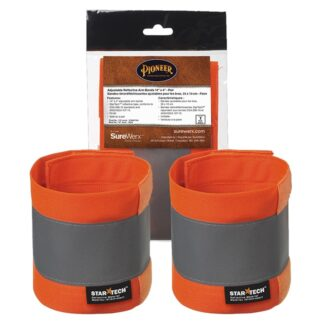 """Pioneer 140A Adjustable Reflective Arm Bands 14"""" x 4"""""""