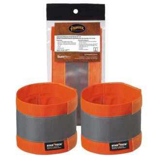 """Pioneer 142A Adjustable Reflective Ankle Bands 18"""" x 4"""""""