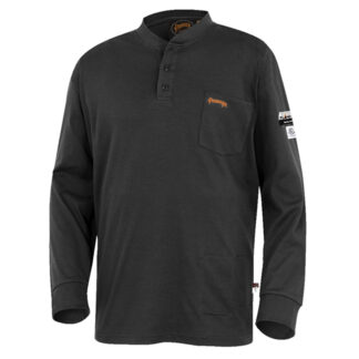Pioneer 332 100% Cotton FR Interlock 7 oz Henley Shirt