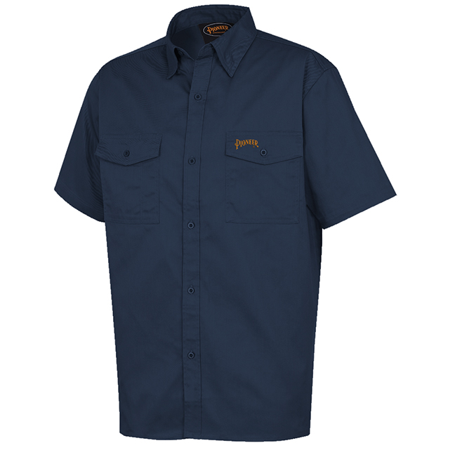Pioneer 4406 Poly/Cotton Short-Sleeved Work Shirt
