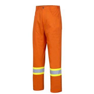 Pioneer 4461 Hi-Viz Cotton Safety Pant