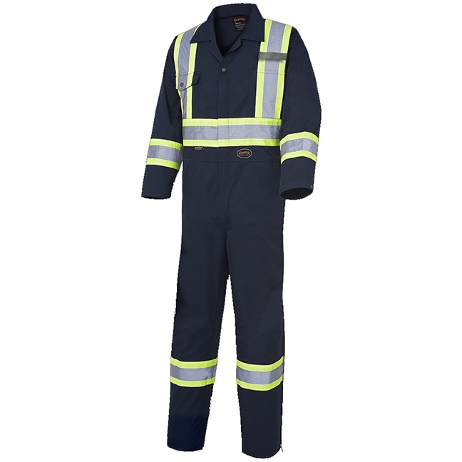 Pioneer 516 Safety Poly/Cotton Coverall