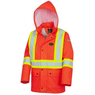 Pioneer 5892PKT FR/PU Waterproof Safety Jackets with Pockets